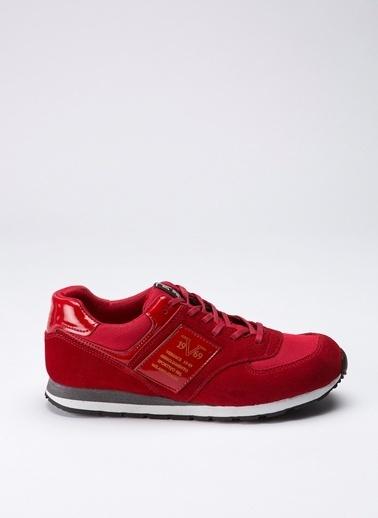 19V69 Italia %100 Deri Lifestyle Ayakkabı Kırmızı
